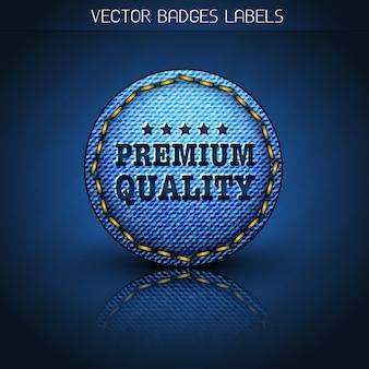 Etichetta jeans premium
