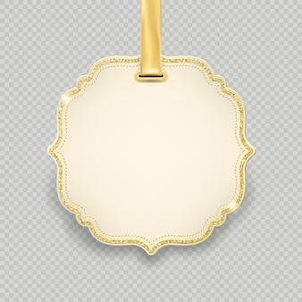 Etichetta modello, decorazione cornice tag per promozione shopping vendita vacanze di natale e capodanno. isolato su sfondo trasparente