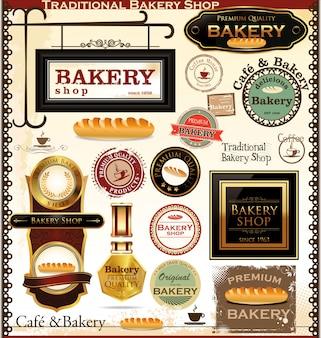 Etichette e distintivi per panetteria