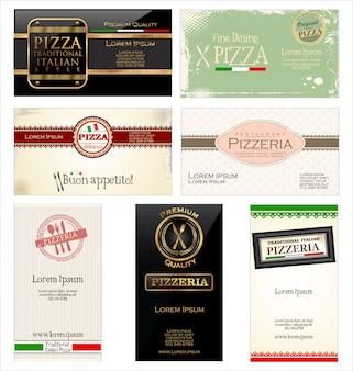 Etichette pizza