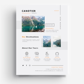 Eventi di agenzia di viaggio viaggiatore canotier 2020