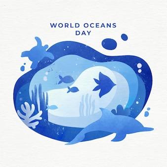 Evento della giornata mondiale degli oceani