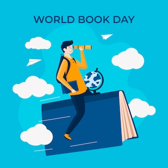 Evento della giornata mondiale del libro