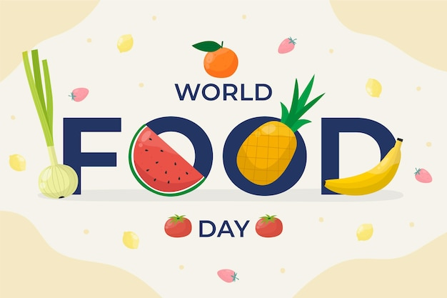 Evento della giornata mondiale dell'alimentazione