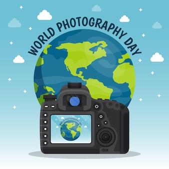 Evento della giornata mondiale della fotografia