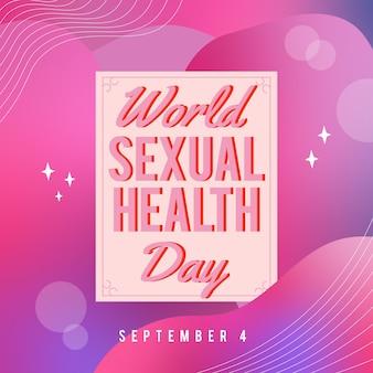 Evento della giornata mondiale della salute sessuale il 4 settembre