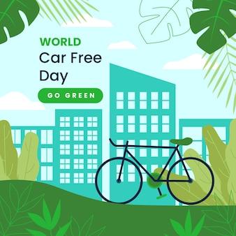 Evento di un giorno senza auto mondiale