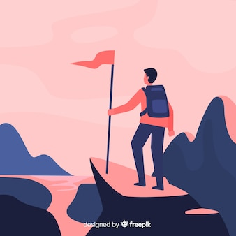 Explorer con lo sfondo dello zaino