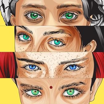 Eye pop art