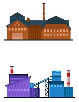 Fabbrica edificio industriale