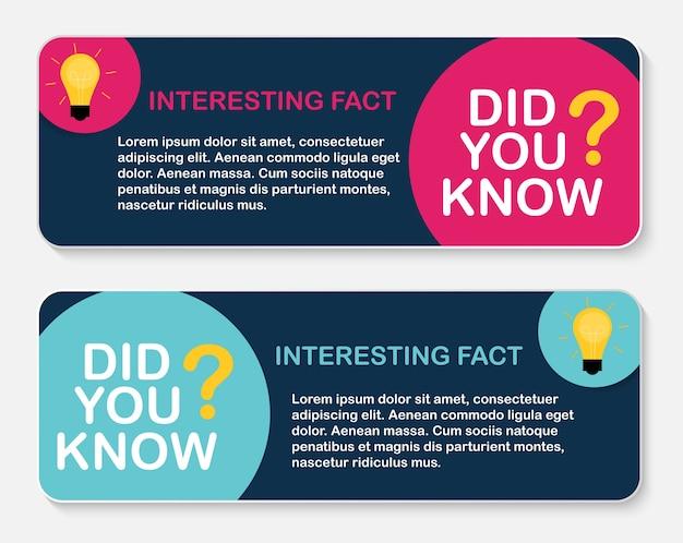 Fact label concept design