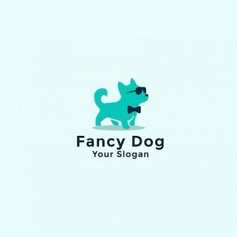 Fancy dog logo