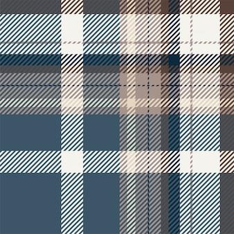 Fantasia scozzese scozzese senza cuciture. struttura geometrica quadrata di colore di controllo dell'annata.