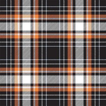 Fantasia scozzese scozzese senza cuciture