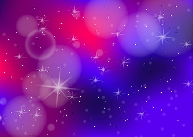 Fantastica galassia colorata