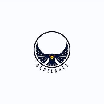 Fantastico logo d'aquila
