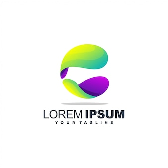 Fantastico logo lettera c