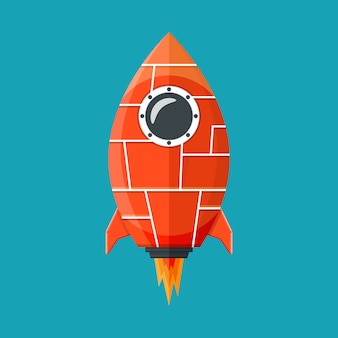 Fantasy rocket