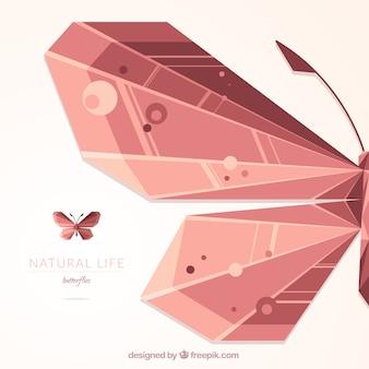 Farfalla astratta sfondo