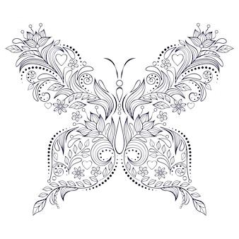 Farfalla lorale