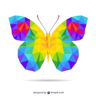 Farfalla poligonale