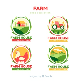 Farm logo collectio