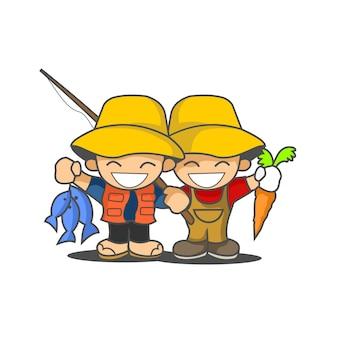 Farmer twin
