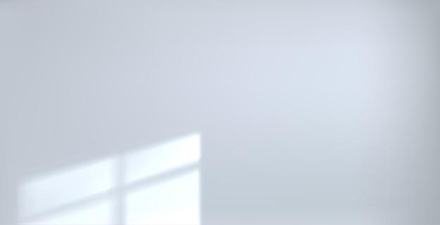 Fascio vuoto della stanza bianca del fondo