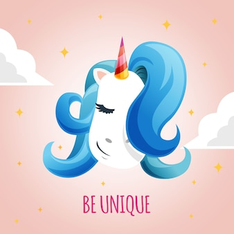 Fashion cute unicorn