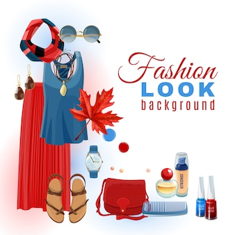 Fashion look background