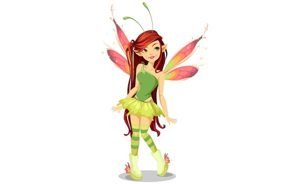 Fata delle farfalle