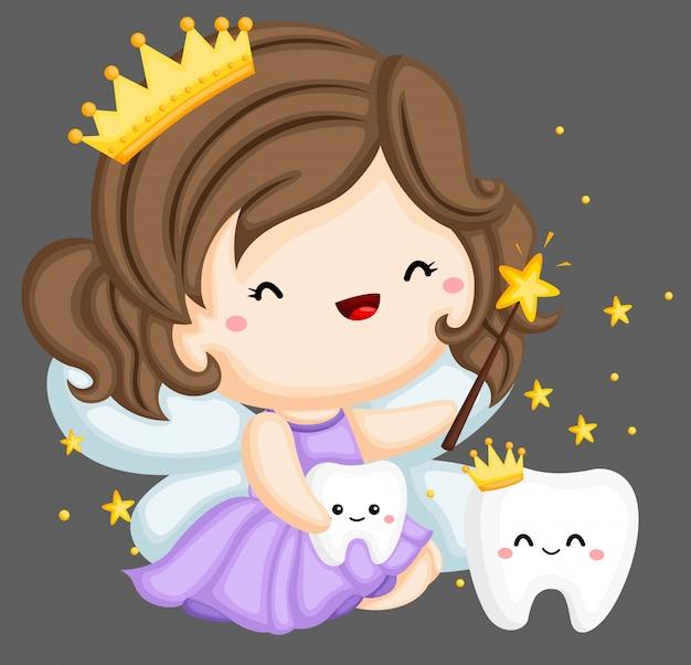 Fatina dei denti e denti magici