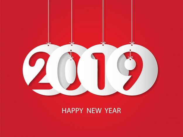 Felice anno nuovo 2019 e buon natale.