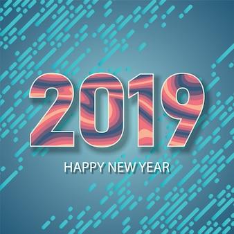 Felice anno nuovo 2019
