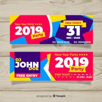 Felice anno nuovo banner 2019