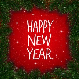 Felice anno nuovo sfondo 2019.
