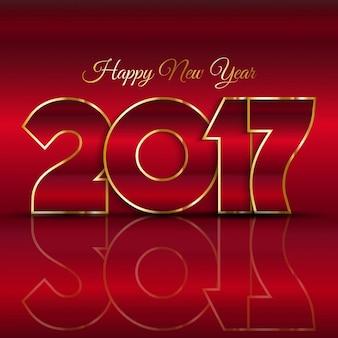 Felice anno nuovo sfondo con disegno di testo