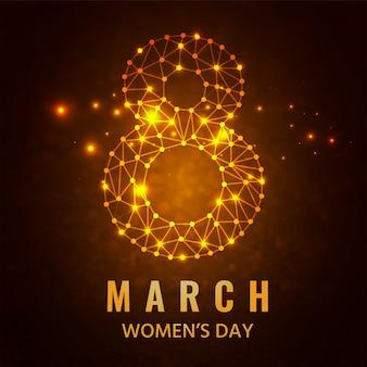 Felice celebrazione della festa della donna.