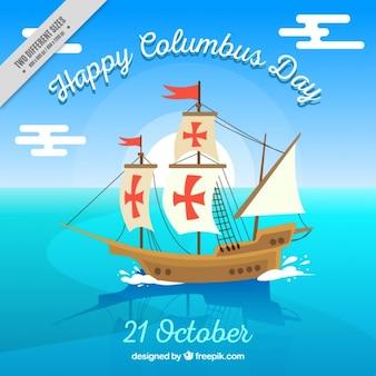 Felice columbus day background
