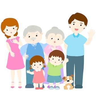 Felice design di carattere familiare