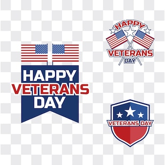 Felice festa dei veterani per veterano americano