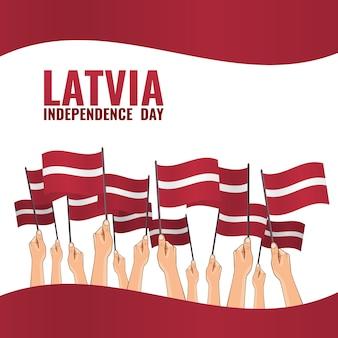 Felice festa dell'indipendenza della lettonia.