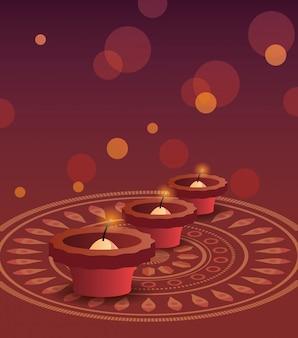 Felice festa di diwali