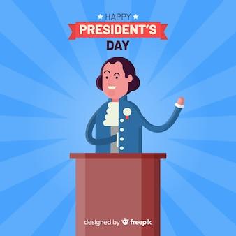 Felice giorno del presidente
