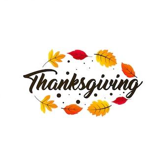 Felice giorno del ringraziamento illustrazione
