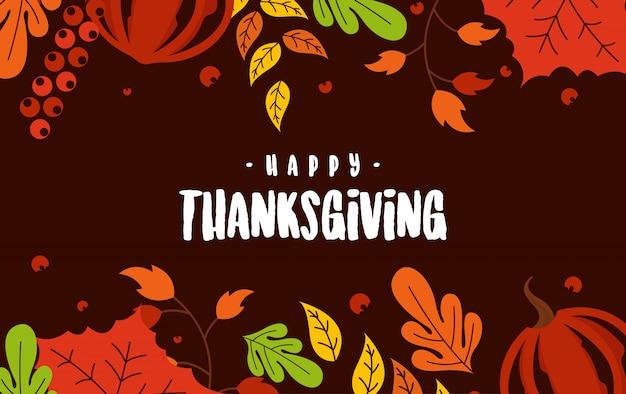 Felice giorno del ringraziamento