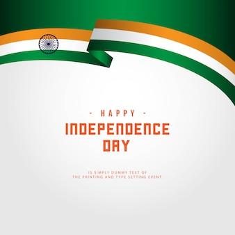 Felice giorno dell'indipendenza dell'india