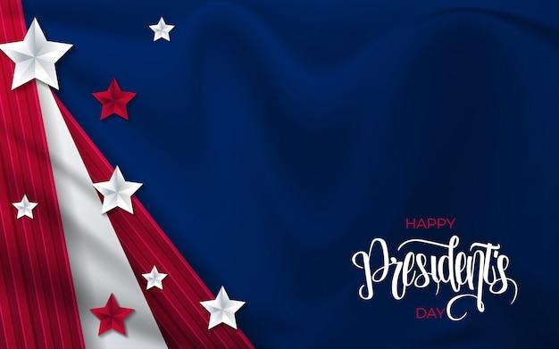 Felice giorno di presidenti sfondo.