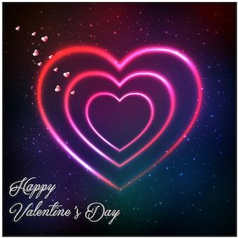 Felice giorno di san valentino sfondo