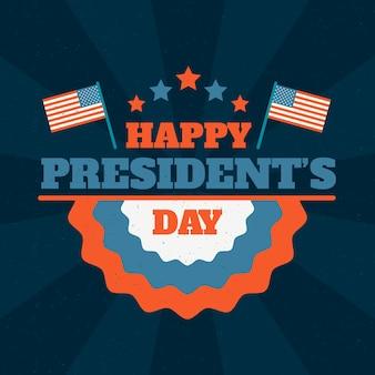 Felice messaggio del giorno dei presidenti